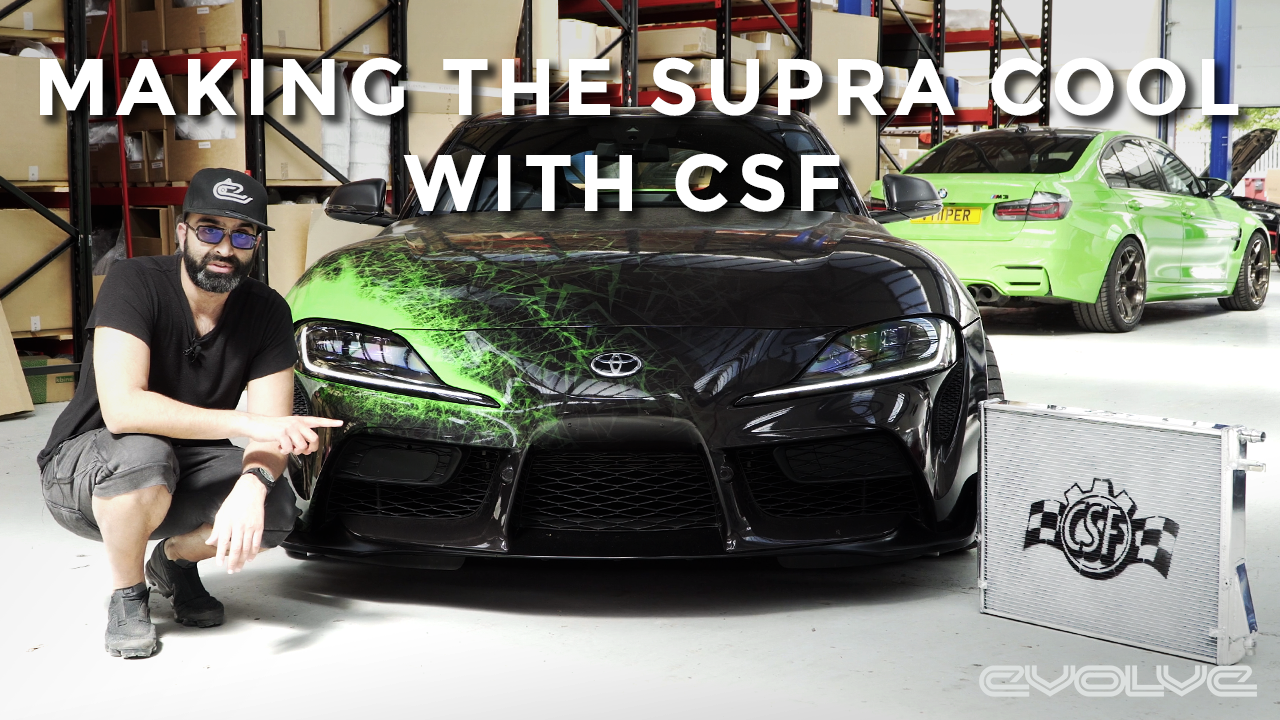 Fixing a Supra problem with CSF - Heat Exchanger upgrade