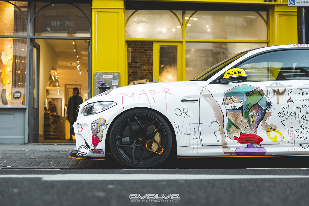 Evolve F87 M2 Art Car Project