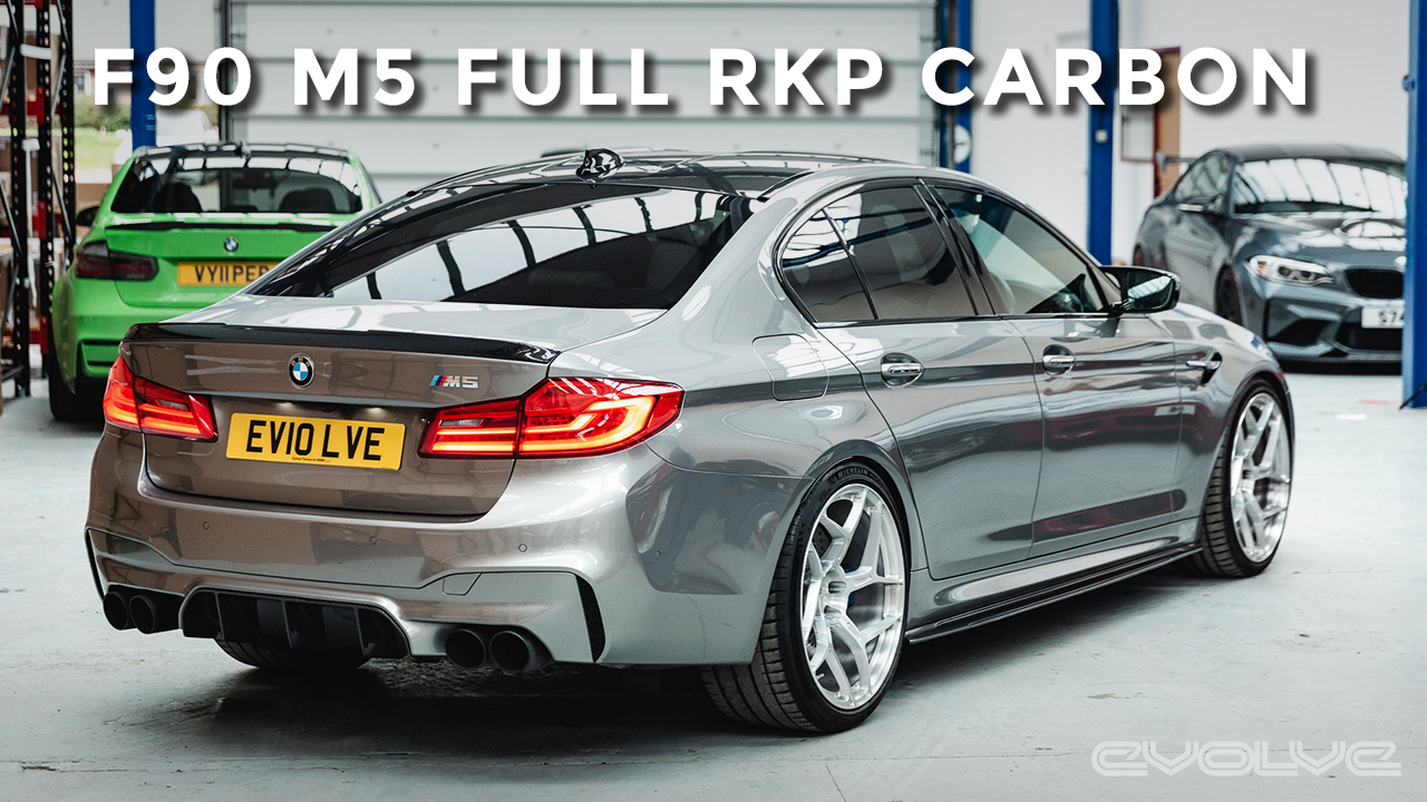 Completing our RKP F90 M5 with Carbon Fiber Sideskirts