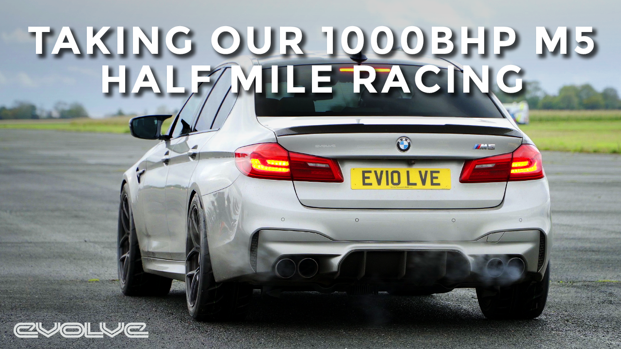 Half Mile Racing our Stage 3 1000BHP F90 M5