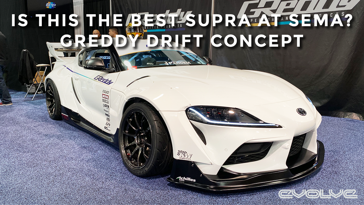 The best MK5 Supra at SEMA - Greddy Performance Drift Concept