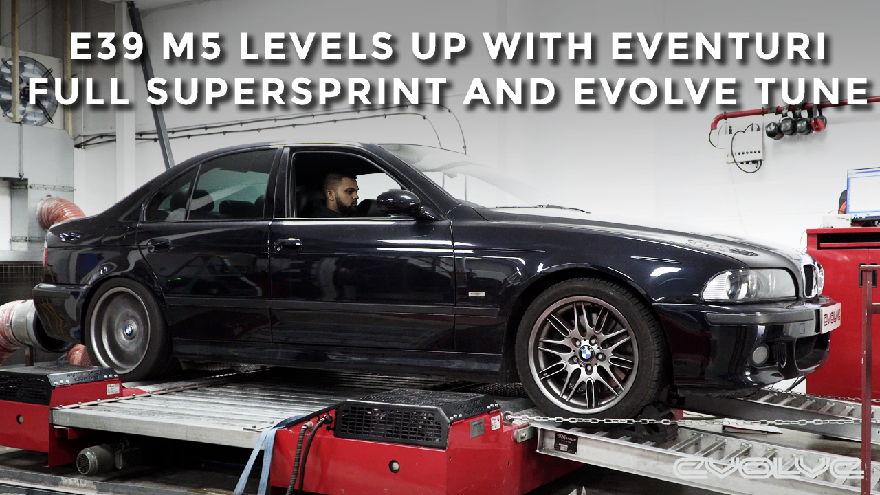 E39 M5 Supersprint Headers + Full Exhaust - Evolve Alpha N Tune - Eventuri Intakes