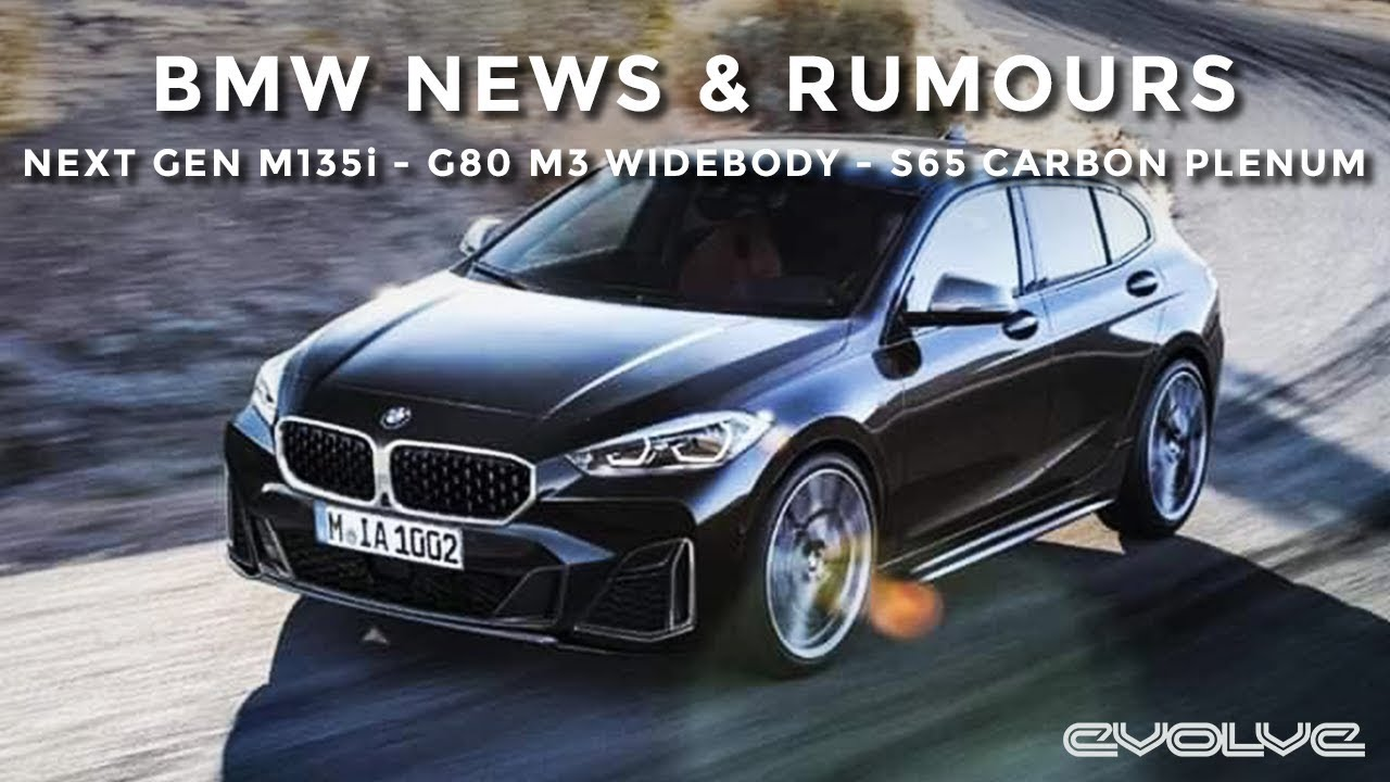 BMW News & Rumours - F40 M135i Leaked - G80 M3 Nurburgring - S65 Eventuri Carbon Plenum