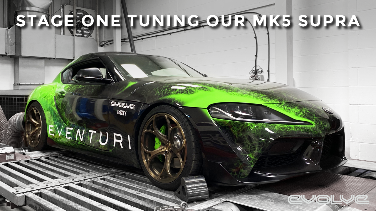 Stage One tuning our Mk5 Supra - Dyno + Dragy Results!