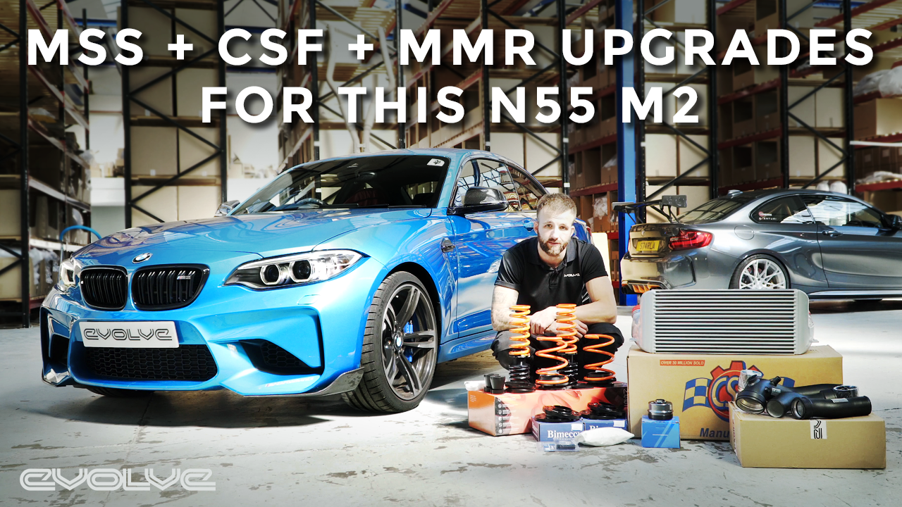 MSS Suspension + CSF Intercooler Upgrades for an N55 M2