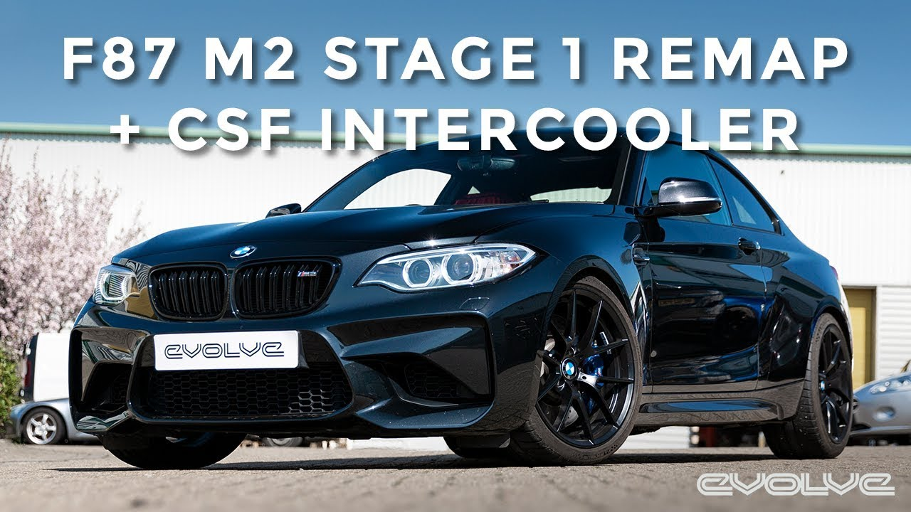F87 M2 CSF Intercooler and Stage 1 Remap