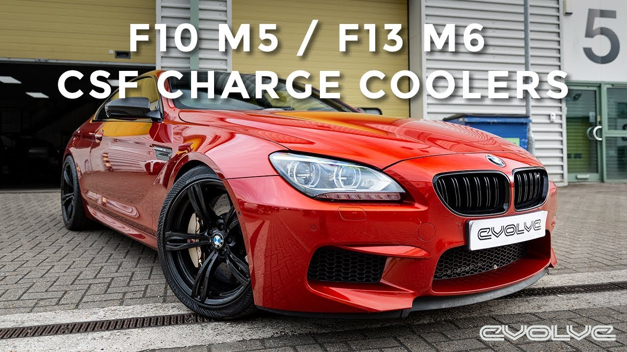 Testing CSF Charge Coolers for the F10 M5/F13 M6