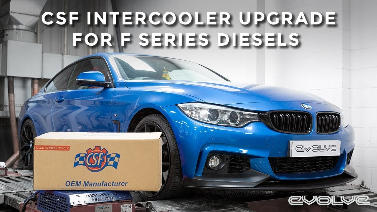 435D Uprated CSF Intercooler Dyno Testing & Evolve Tune