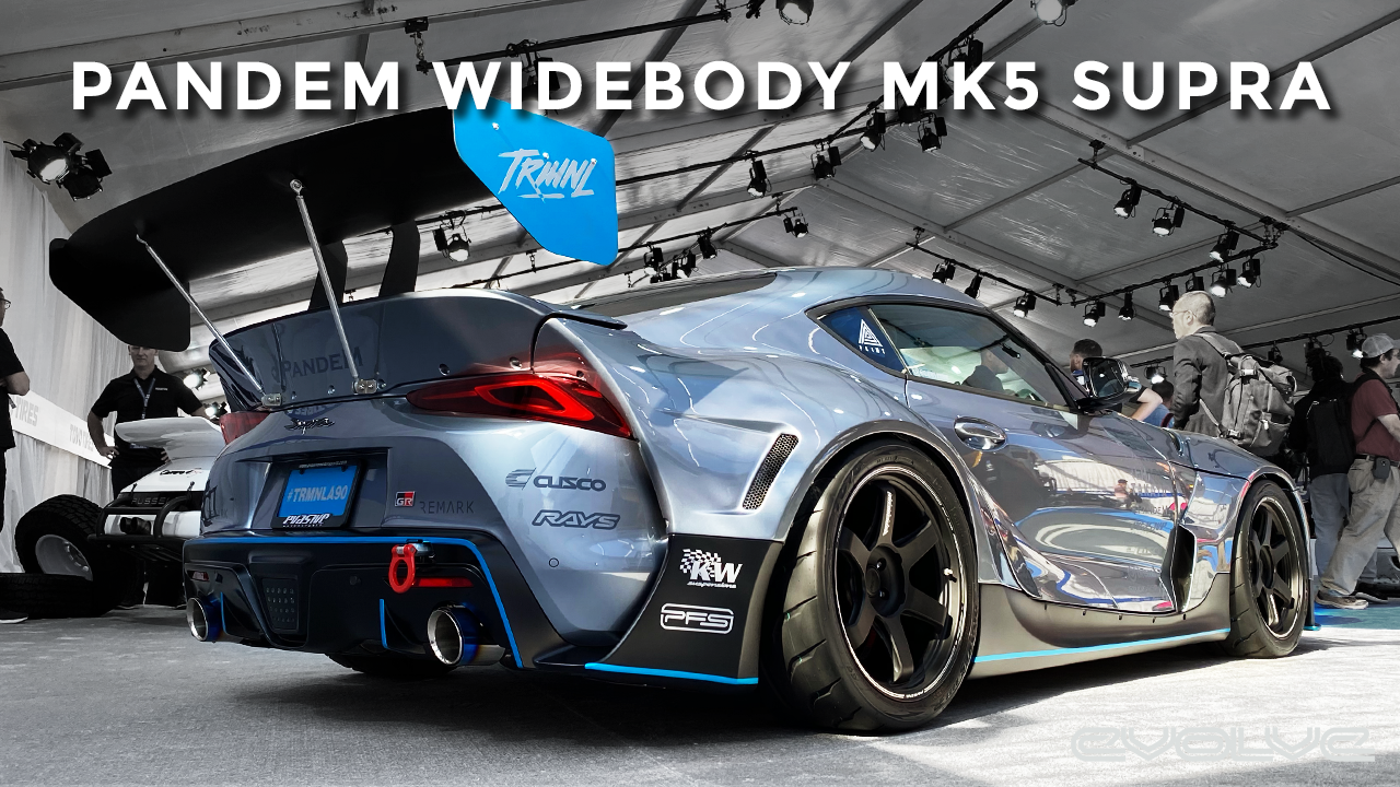 The best Pandem Widebody Mk5 Supra at SEMA?