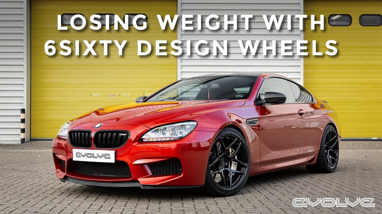 F13 M6 - 6Sixty Design Forged lightweight wheels