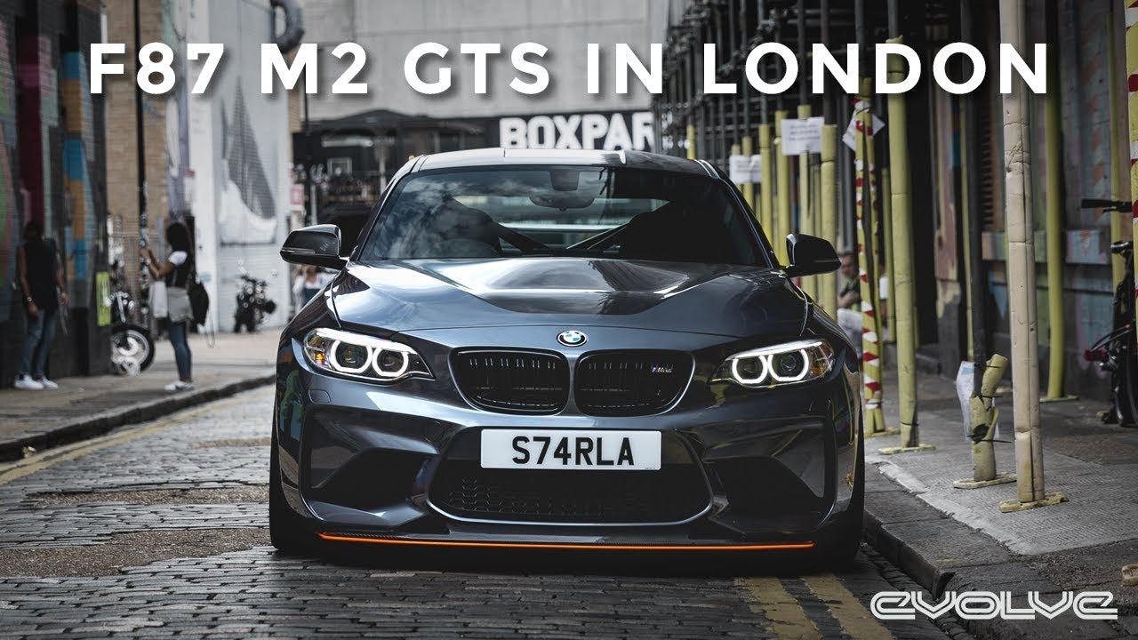 Taking our F87 M2 GTS to London - Starla x Graffiti
