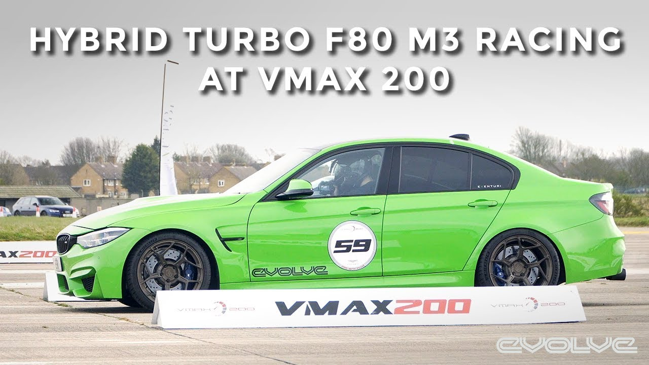 VMAX 200 in Project Vyper - Hybrid Turbo 605bhp F80 M3