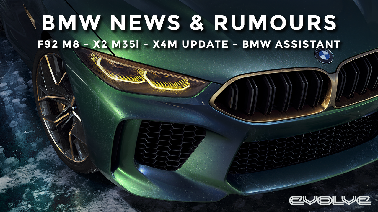 BMW News & Rumours - F92 M8 - X2 M35i - X4M RWD Mode?