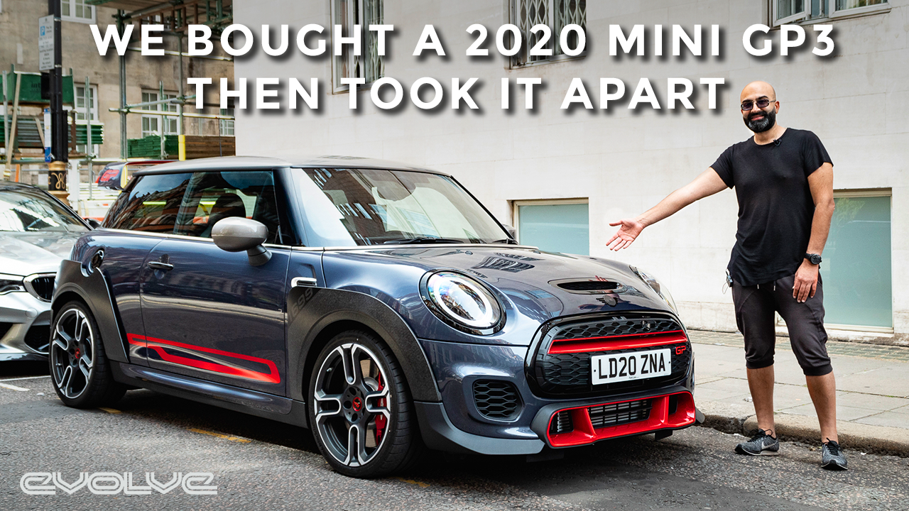 Collecting + Taking apart our new 2020 Mini JCW GP3