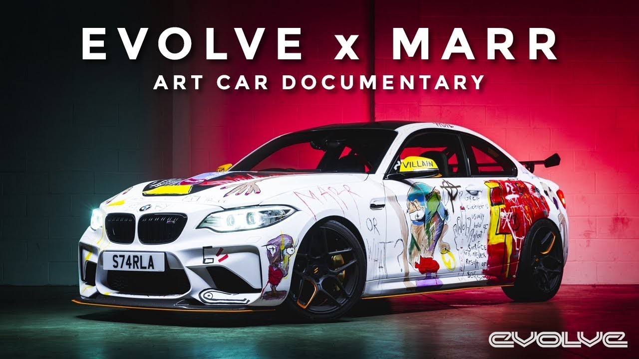 Evolve X MARR M2 GTS Art Car Documentary