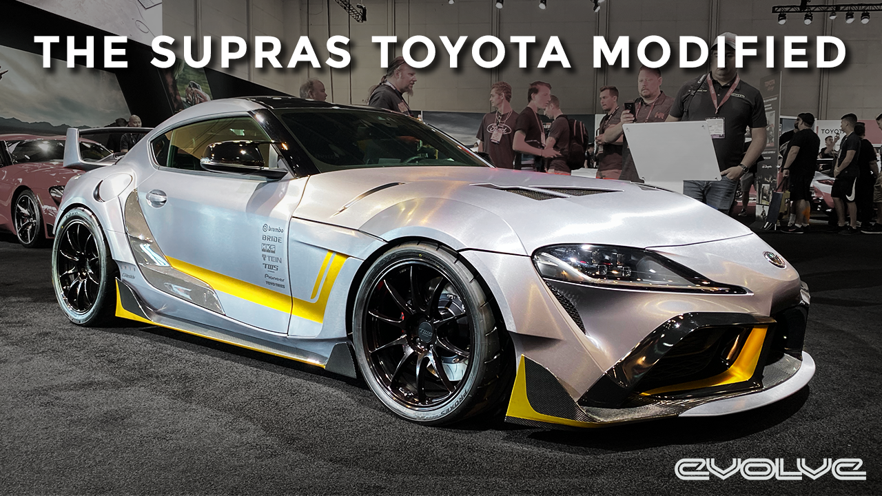 Even Toyota are modifying the Mk5 Supra!