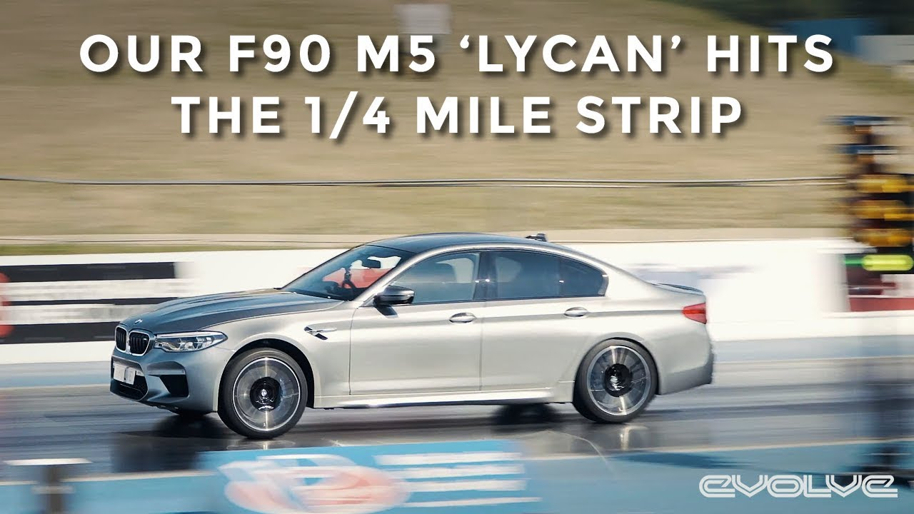 Taking our F90 M5 to the 1/4 Mile Drag Strip - BMW Show 2018
