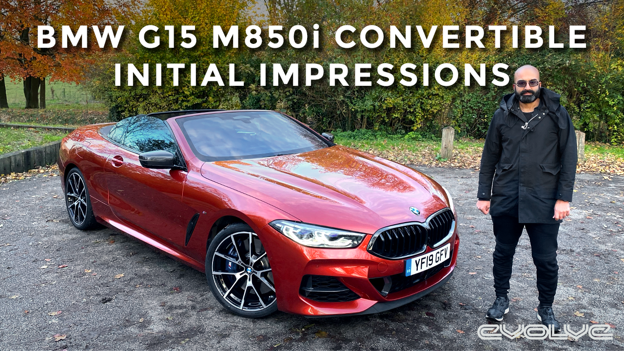 BMW G15 M850i Convertible - The thinking mans M8? - BMW Park Lane