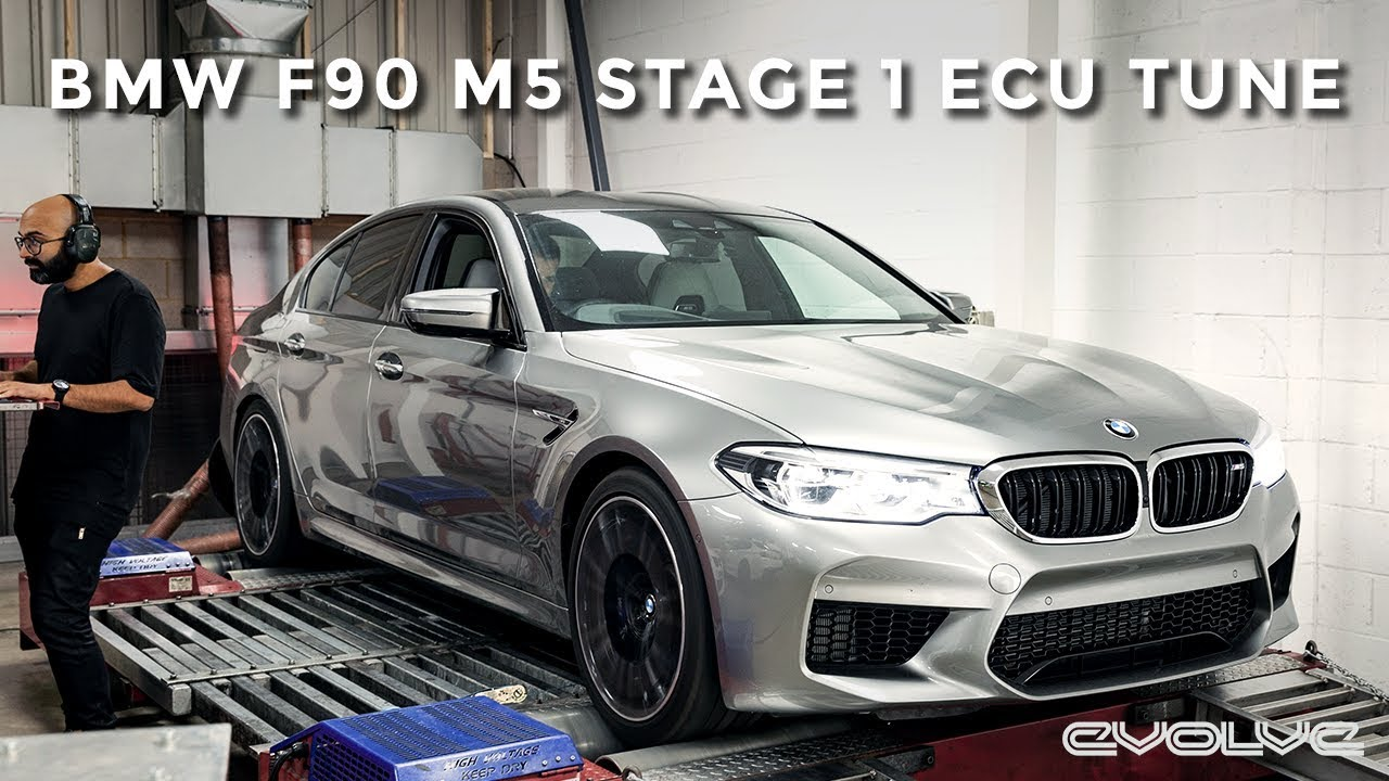 Stage 1 Tuning our F90 M5 Remotely