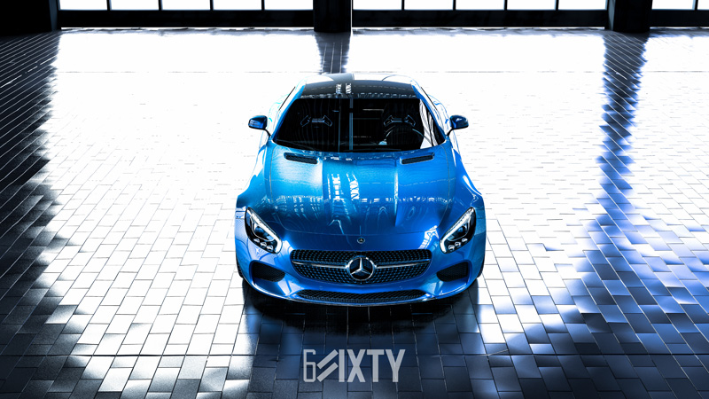 Mercedes AMG GT Looking Fresh On 6Sixty Design Tessen