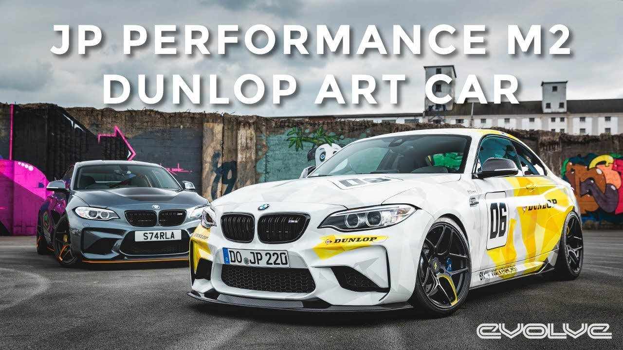 Our M2 GTS vs JP Performance's Dunlop Art Car F87 M2