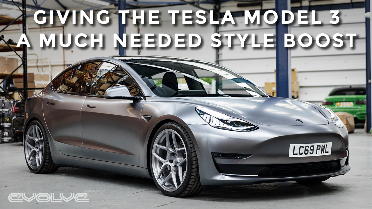Major Style Upgrade for the Tesla Model 3 - MSS Suspension Daily Driver Review