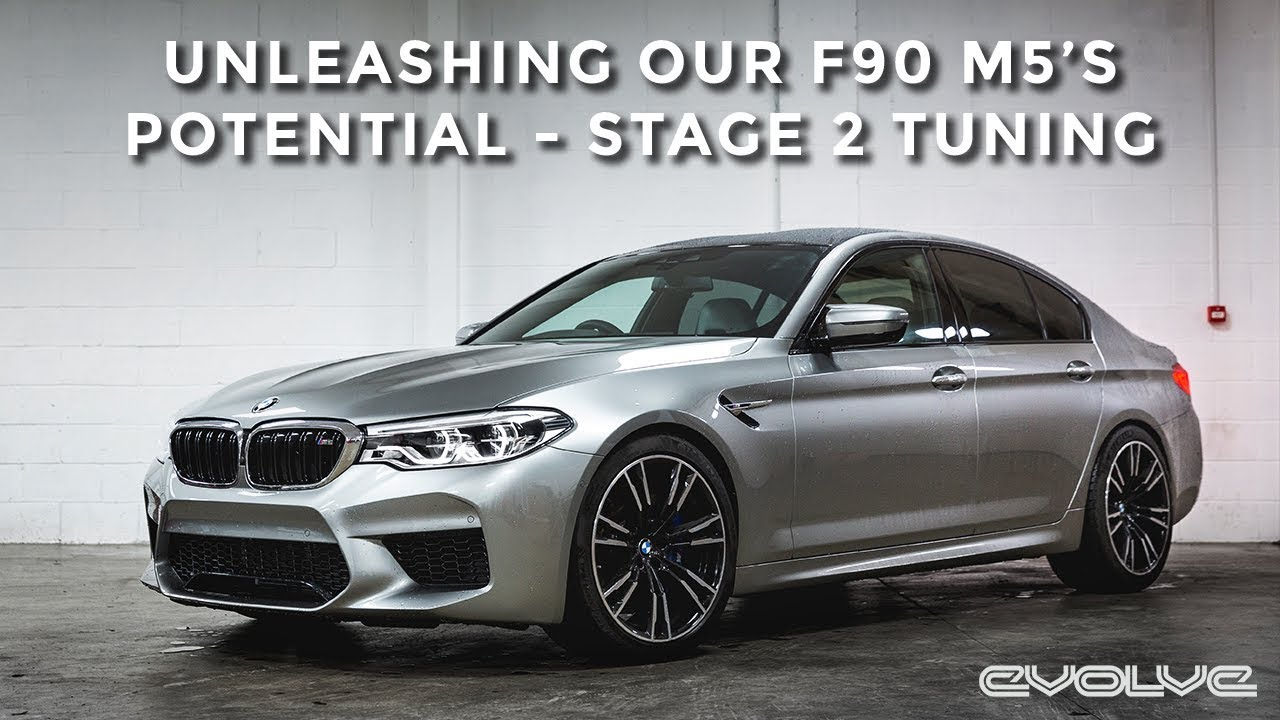 Our F90 M5 gets an Evolve Stage 2 ECU Tune