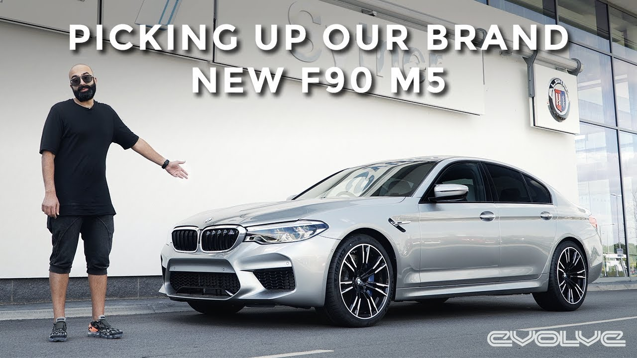 New Project Car - Picking up our Brand New BMW F90 M5
