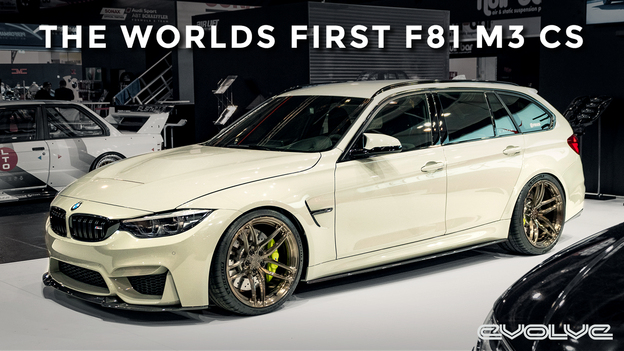 The Worlds First BMW F81 M3 CS!