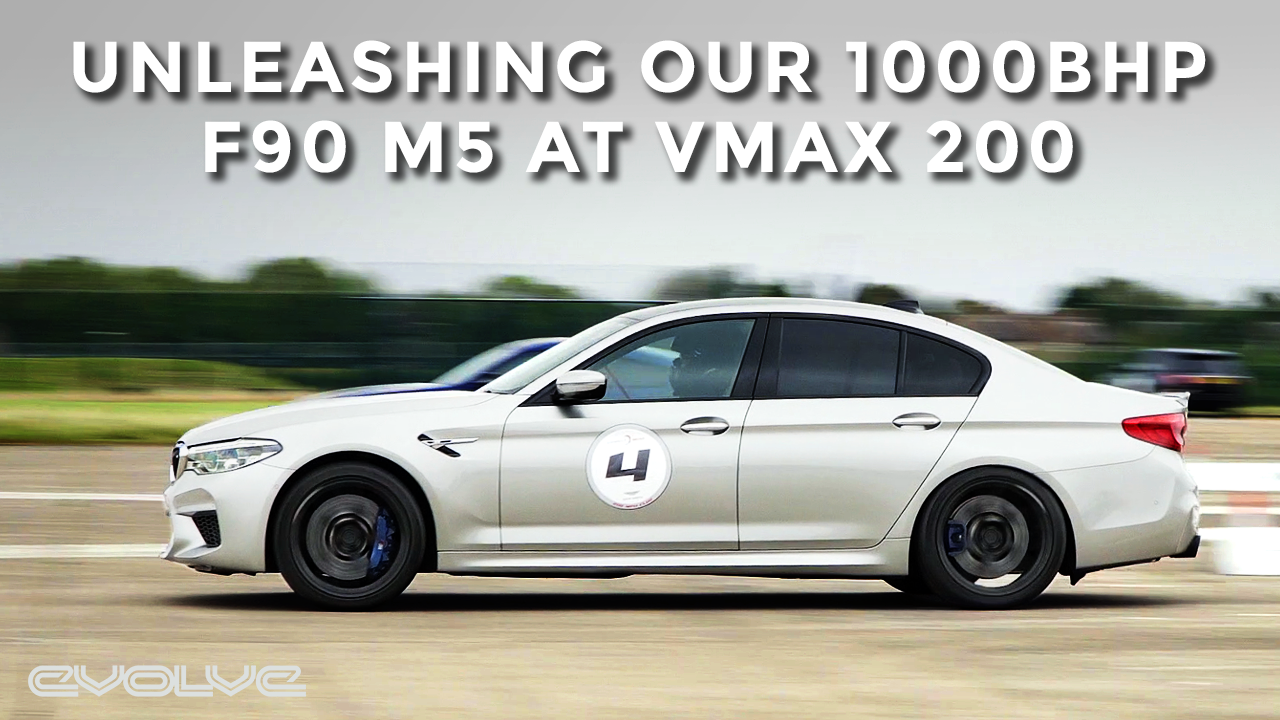 Unleashing our Stage 3 900WHP BMW F90 M5 at VMAX 200