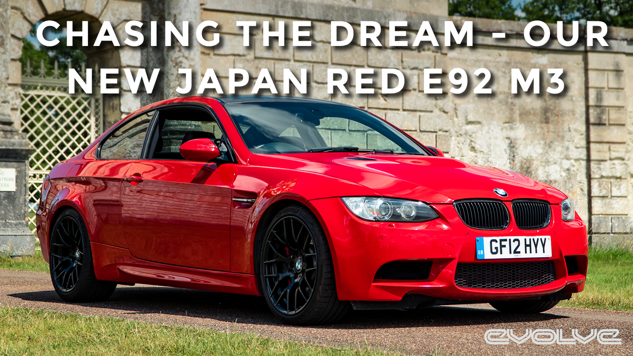 We finally bought another E92 M3! Individual Japan Red KA401 Competition Pack