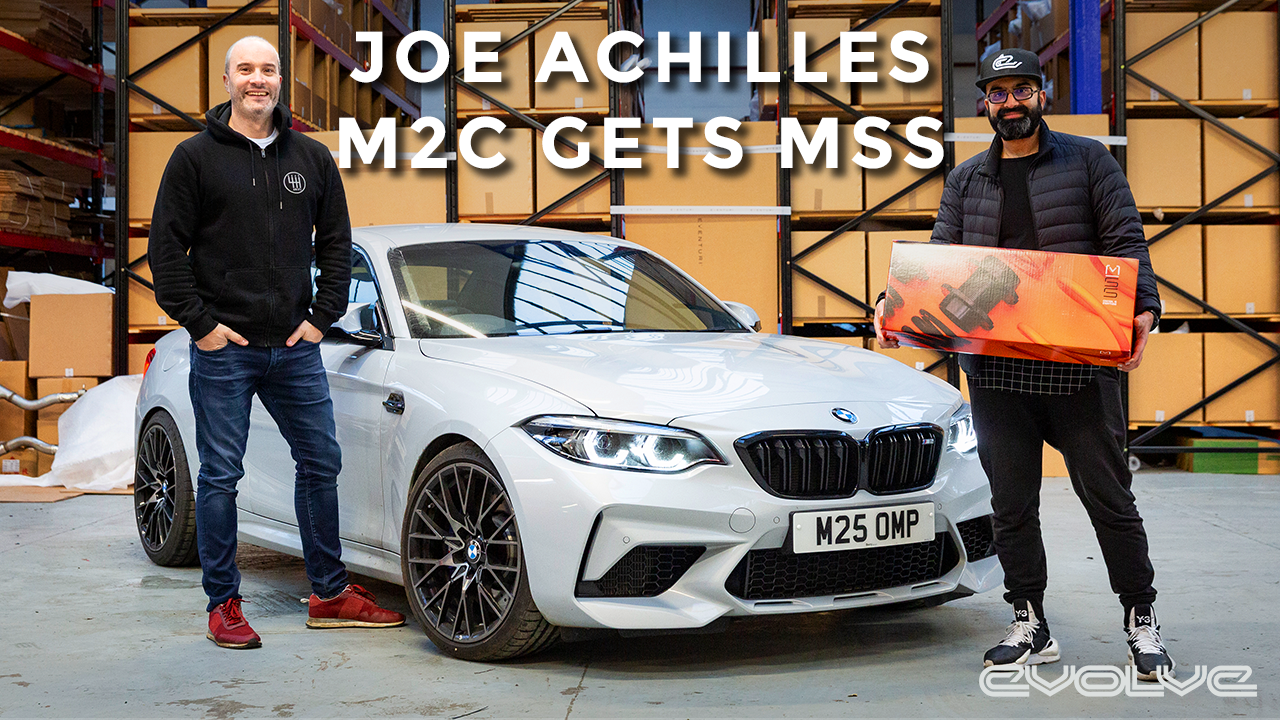 Joe Achilles' M2C gets an MSS Suspension Upgrade!