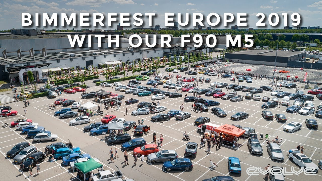 Taking our F90 M5 to Bimmerfest Europe 2019