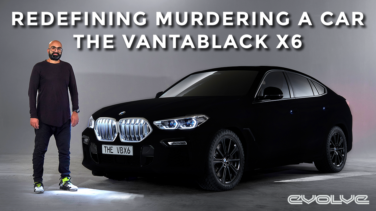 The Ultimate Murdered out X6 - BMW x VANTABLACK
