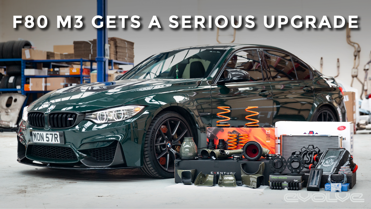 British Racing Green F80 M3 gets a baller package of upgrades! - Eventuri + CSF + MSS + Tuning