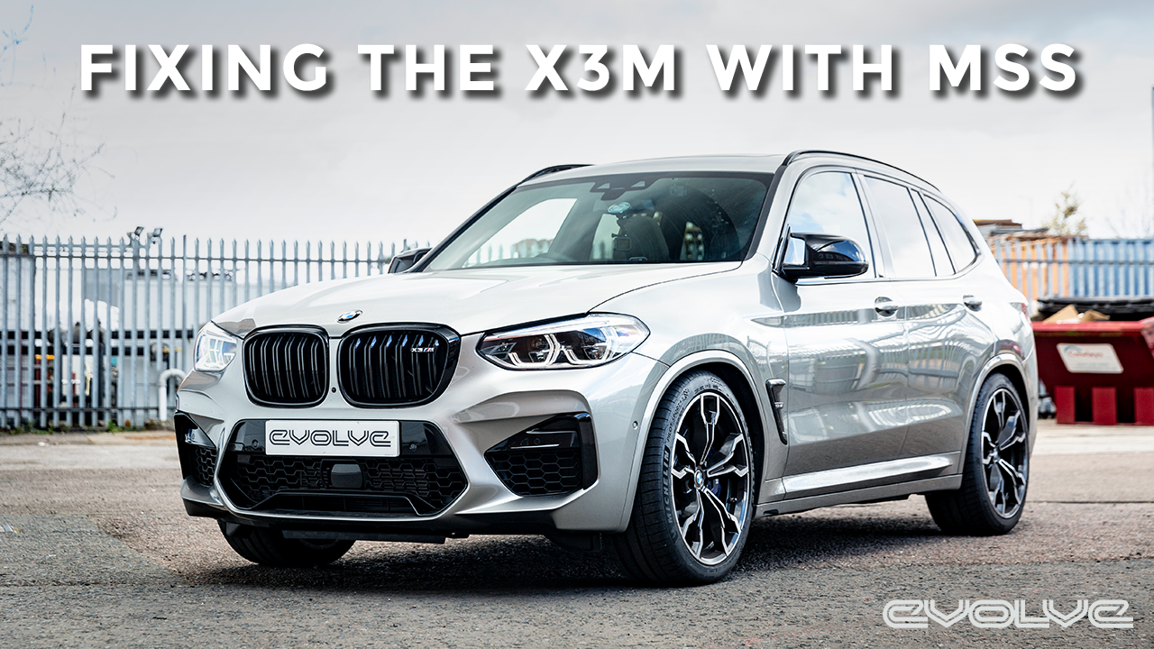 Fixing the X3M's harsh ride with MSS' Ride Management System