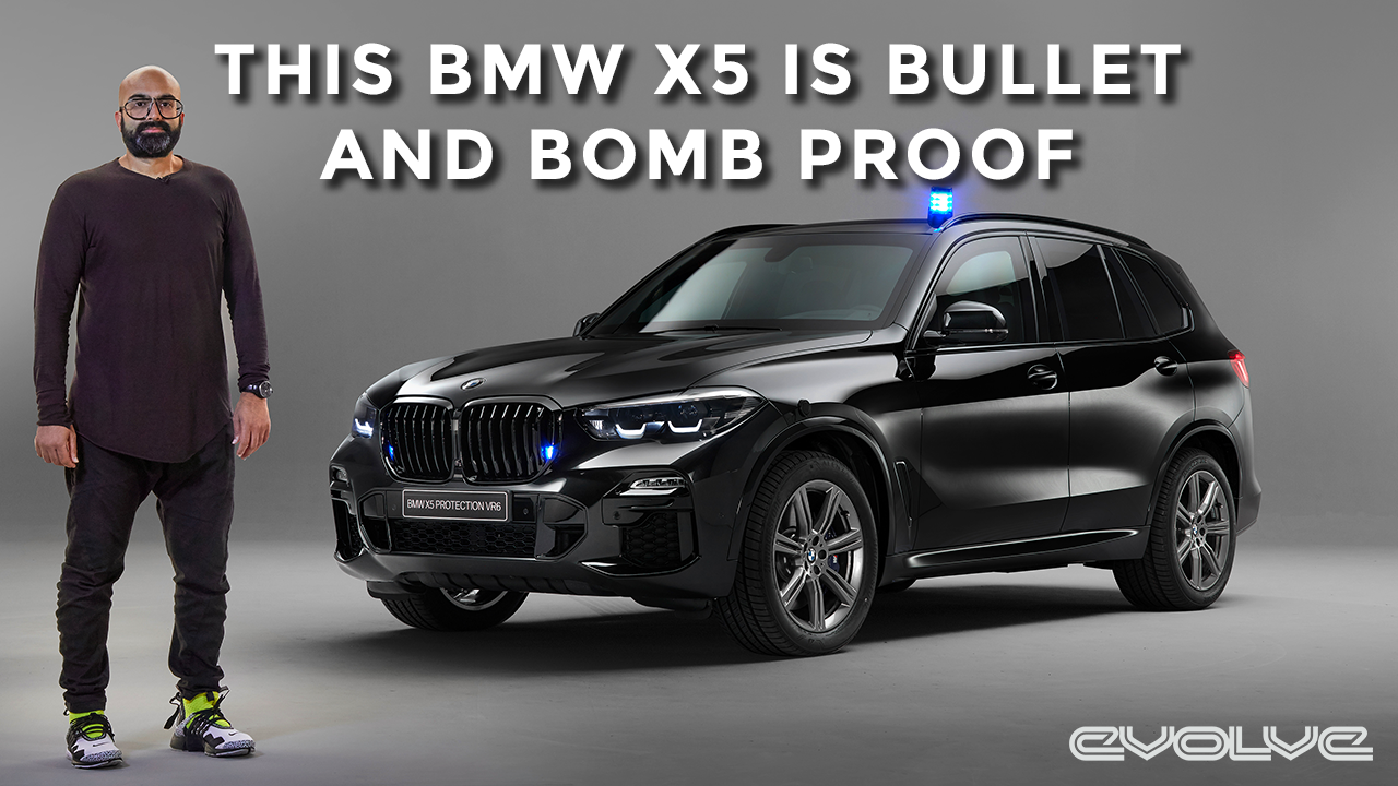 BMW made an X5 fit for a king! The Bulletproof X5 Protection VR6