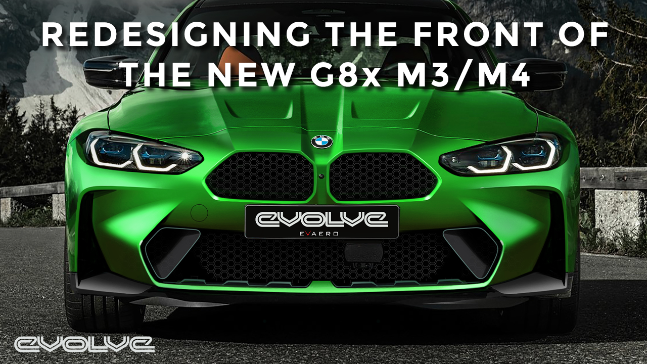 Redesigning the G8x M3/M4 Front Bumper with Evaero