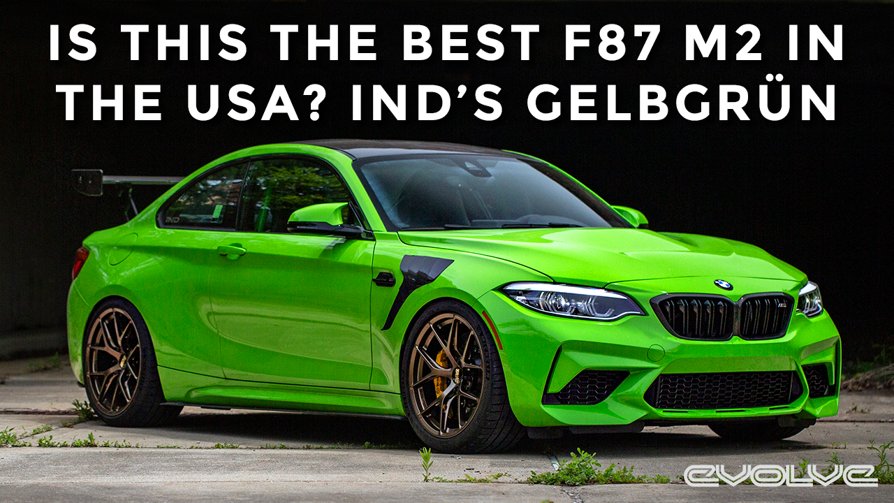 Taking a closer look at one of the best F87 M2's in the USA - IND's Gelbgrün project