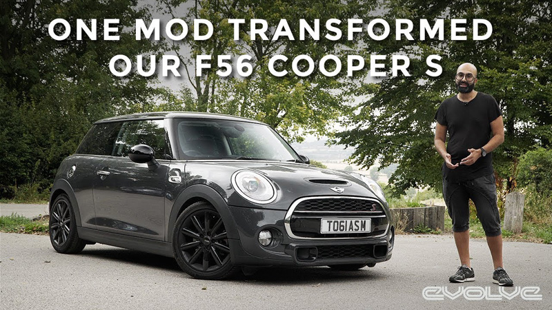 The best modification for an F56? Fitting a Wavetrac diff to our Cooper S