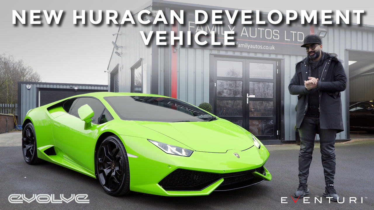 Eventuri's latest Development vehicle - Lamborghini Huracan