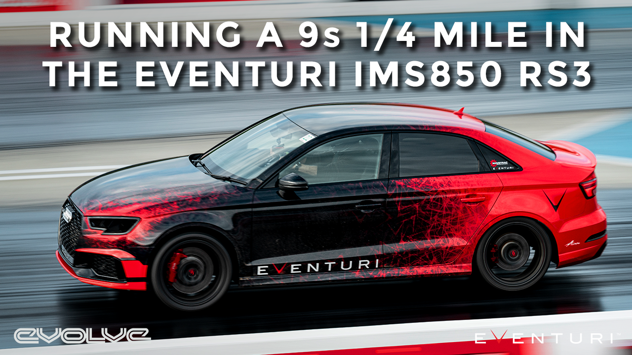 Going for a 9 Second 1/4 Mile in the Eventuri 900bhp RS3