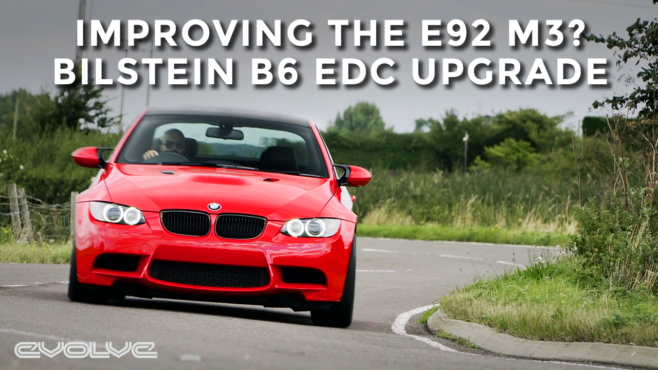 Can Bilstein B6 EDC dampers improve the E92 M3?