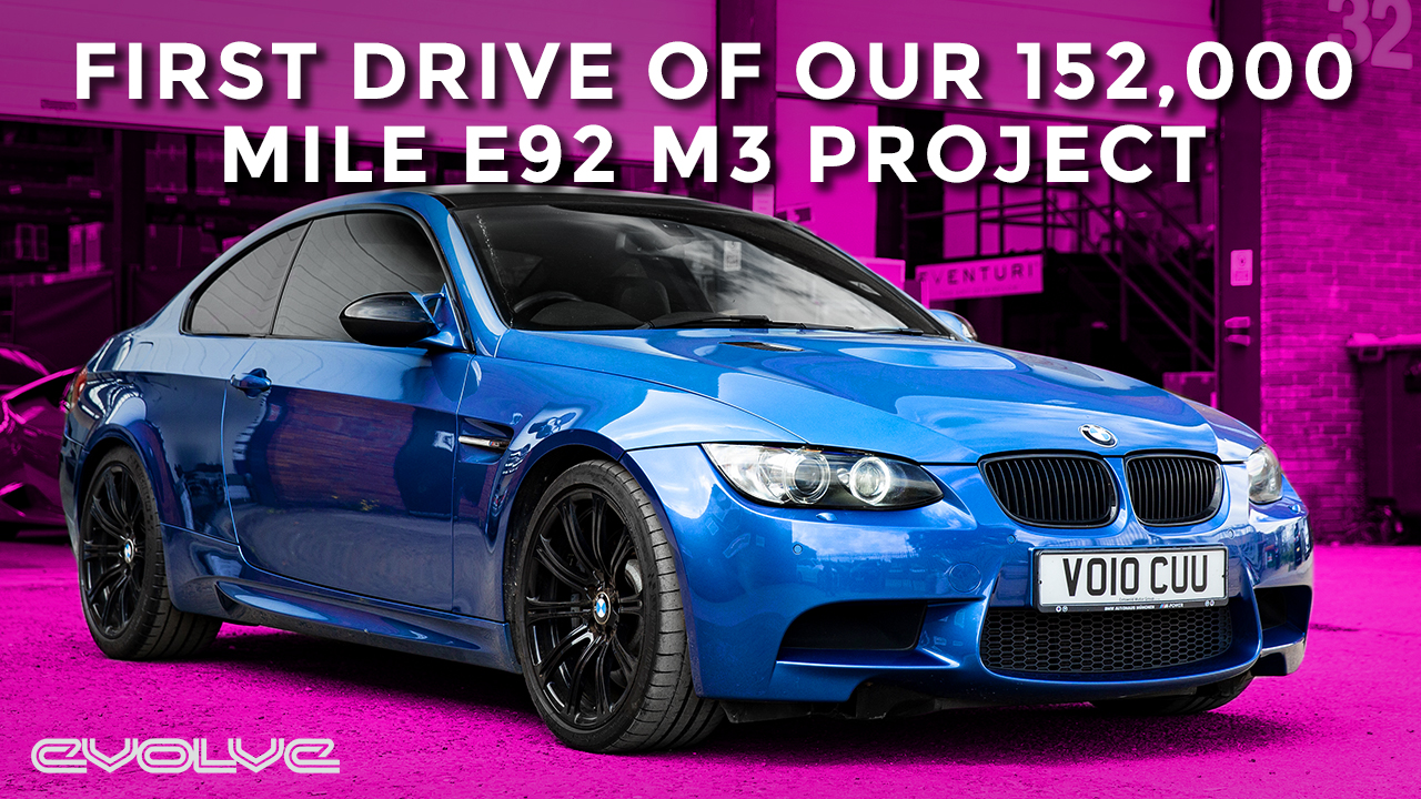 First drive in our 152,000 Mile E92 M3 - Does it feel like an M3?