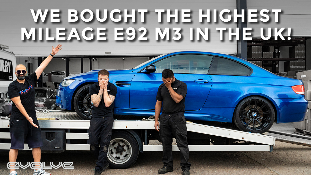 We bought the highest mileage E92 M3 in the UK! - New Project Car