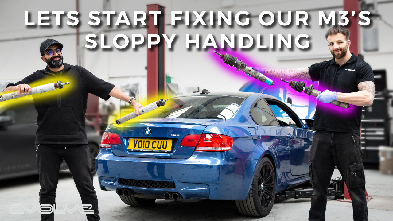 Our 152,000 Mile E92 M3's dampers are useless - Are used dampers a cheap fix?