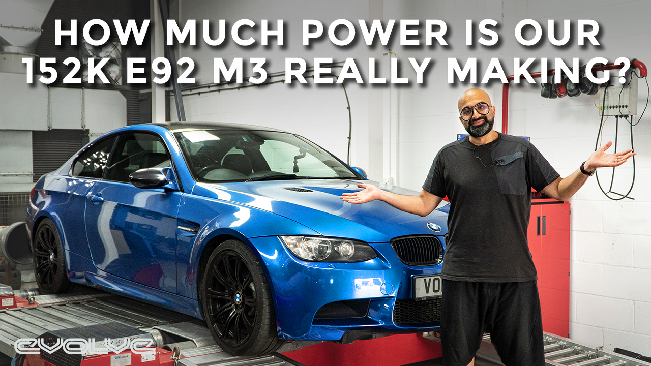 How much Power does our 152,000 mile E92 M3 really make? - Dyno runs + Spark Plug Change
