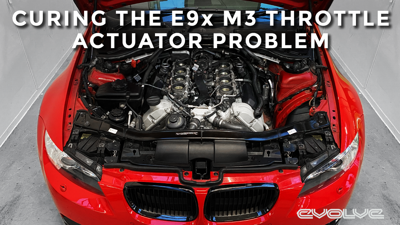 Curing the E92 M3 Throttle Actuator Failure Problem