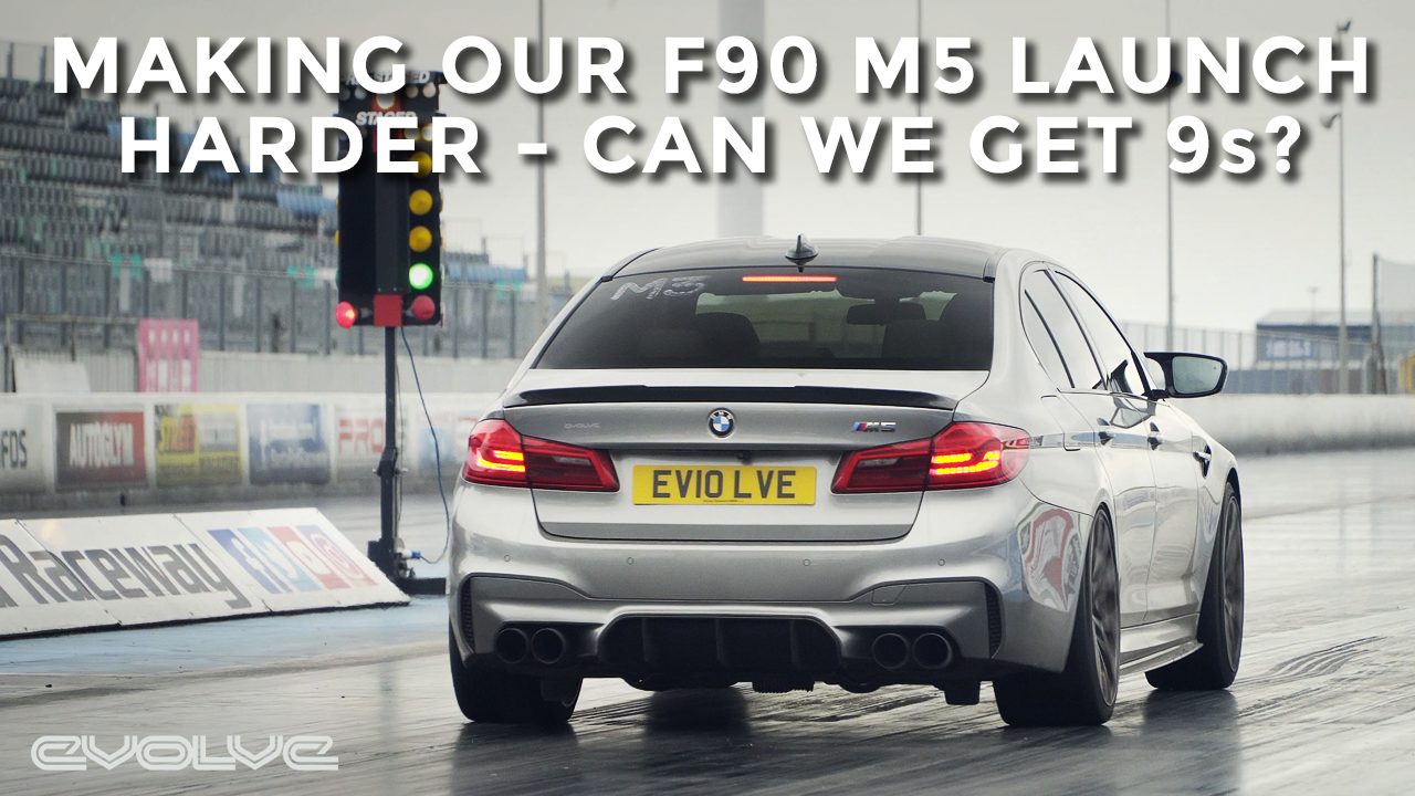 Can this one change make our F90 M5 a 9 second car?