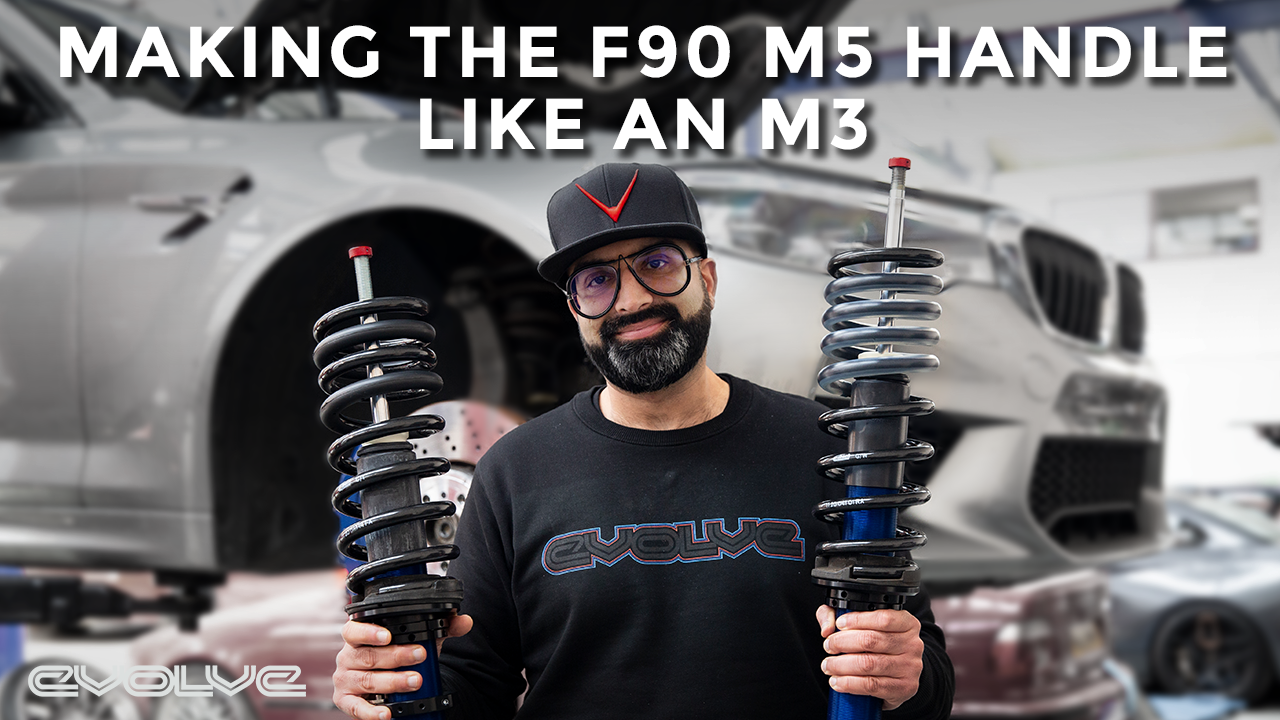 Making the F90 M5 handle like a G80 M3 - Autocouture JRZ Coilovers